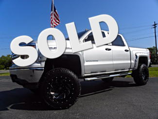 2014 Chevrolet Silverado 1500 CUSTOM LIFTED CREWCAB V8 4X4 LEATHER FLARES Tampa, Florida