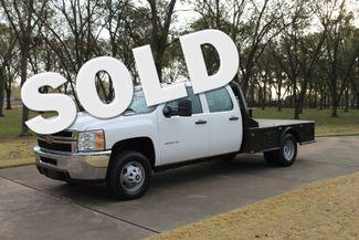 2014 Chevrolet Silverado 3500HD Crew Cab 4WD w/Flat Bed in Marion, Arkansas