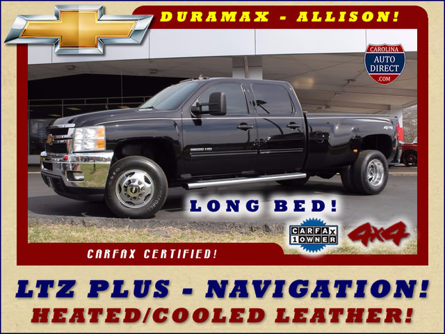 2014 Chevrolet Silverado 3500HD LTZ PLUS Crew Cab Long Bed 4x4 - NAVIGATION! Mooresville , NC 0