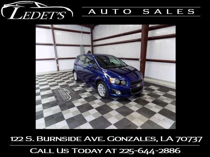 2014 Chevrolet Sonic LT - Ledet's Auto Sales Gonzales_state_zip in Gonzales Louisiana