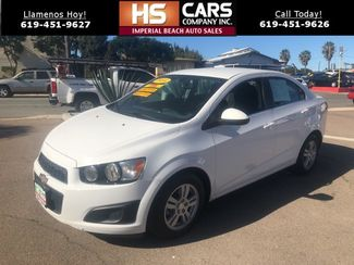 2014 Chevrolet Sonic LT Imperial Beach, California