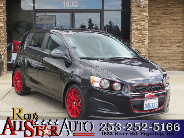 2014 Chevrolet Sonic LT Used Chevrolet Sonic with some aftermarket improvements Obvious cold air