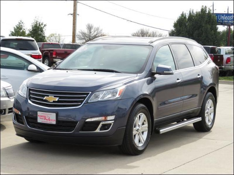 2014 Chevrolet Traverse LT w/2LT One Owner Nav/Leather/Pano/Buckets/Bose in Ankeny IA