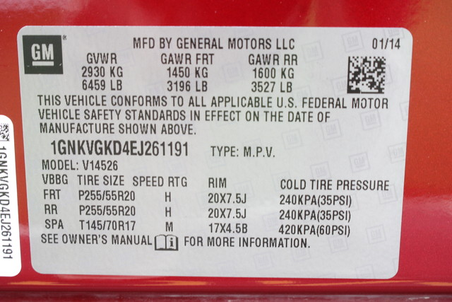 2014 Chevrolet Traverse 2LT-AWD-3RD ROW- Mooresville , NC 31