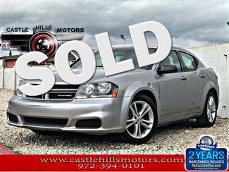 2014 Dodge Avenger SE | Lewisville, Texas | Castle Hills Motors in Lewisville Texas