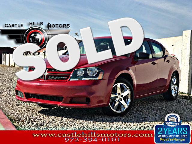 2014 Dodge Avenger SE   Lewisville, Texas   Castle Hills Motors in Lewisville Texas