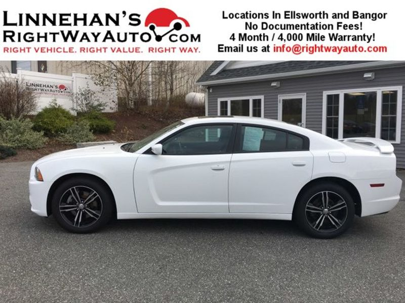 2014 Dodge Charger SXT  in Bangor, ME