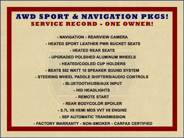 2014 Dodge Charger RT Plus - AWD SPORT PKG - NAVIGATION! Mooresville , NC 1
