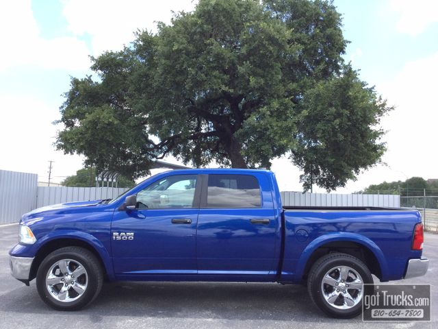 2014 Dodge Ram 1500 Crew Cab Outdoorsman 3.6L V6 4X4 | American Auto Brokers San Antonio, TX in San Antonio Texas