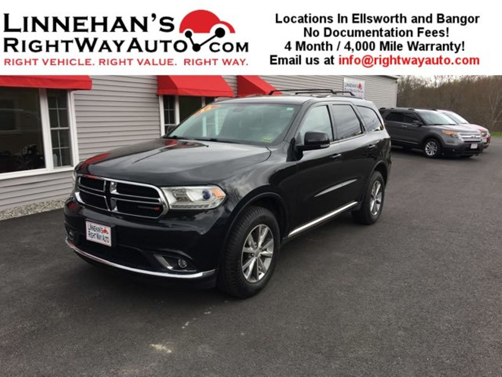 2014 dodge durango limited in bangor me