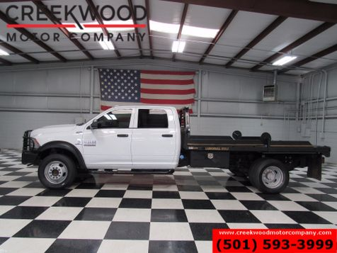 2014 Dodge Ram 4500 ST SLT 4x4 Diesel Dually Flatbed Cannonball Dump in Searcy, AR