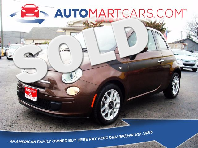 2014 Fiat 500 Pop | Nashville, Tennessee | Auto Mart Used Cars Inc. in Nashville Tennessee