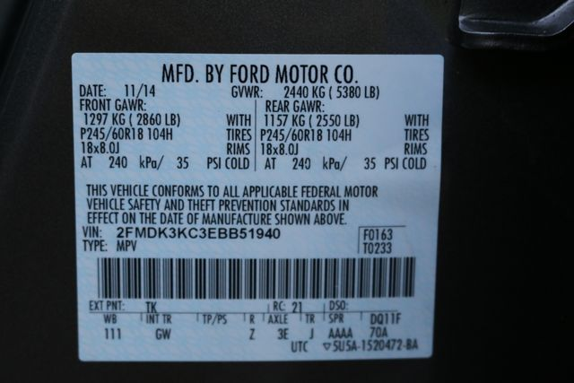 2014 Ford Edge Limited Mooresville, North Carolina 84