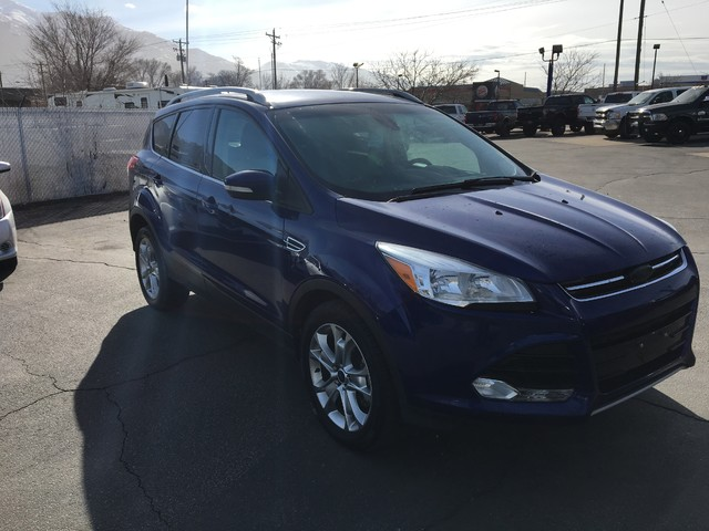 2014 Ford Escape Titanium Ogden, Utah 7