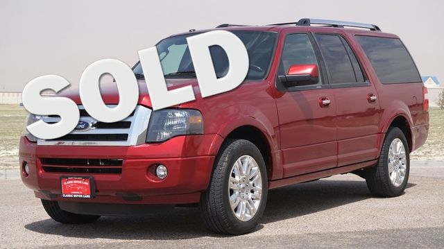 2014 Ford Expedition EL Limited | Lubbock, Texas | Classic Motor Cars