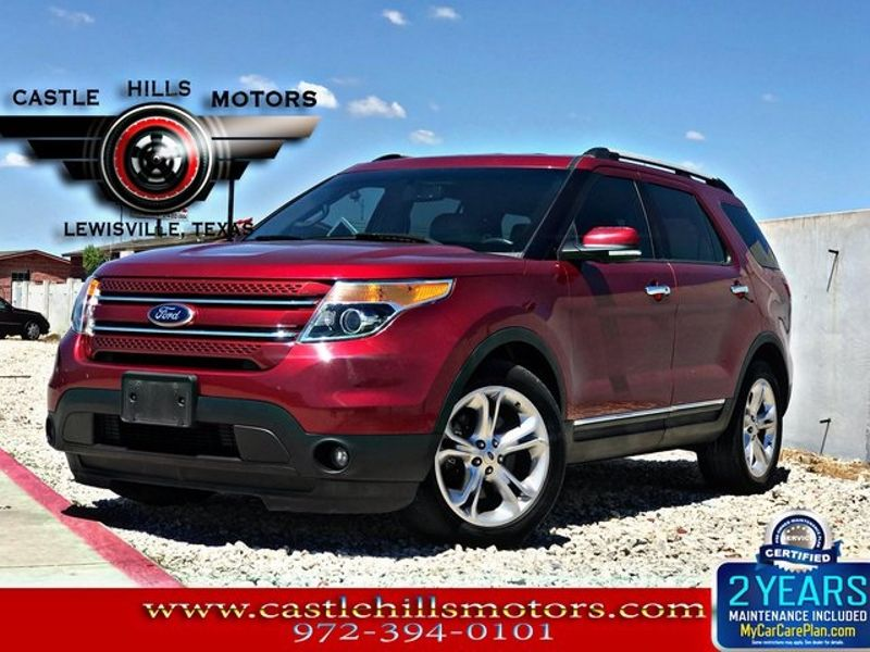 2014 Ford Explorer Limited | Lewisville, Texas | Castle Hills Motors in Lewisville Texas