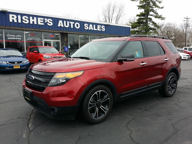 2014 Ford Explorer Sport AWD 7 Pass | Ogdensburg, New York | Rishe's Auto Sales in Ogdensburg New York