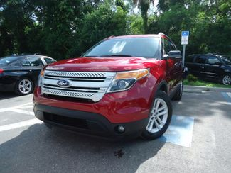 2014 Ford Explorer XLT. NAVIGATION. LEATHER. PWR TAILGATE SEFFNER, Florida