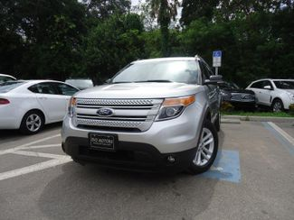 2014 Ford Explorer XLT 4WD. NAVIGATION. LEATHER. POWER TAILGATE SEFFNER, Florida 4