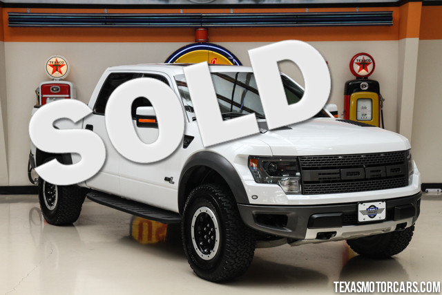 2014 Ford F-150 SVT Raptor This Carfax 1-Owner accident-free 2014 Ford F-150 SVT Raptor is in grea