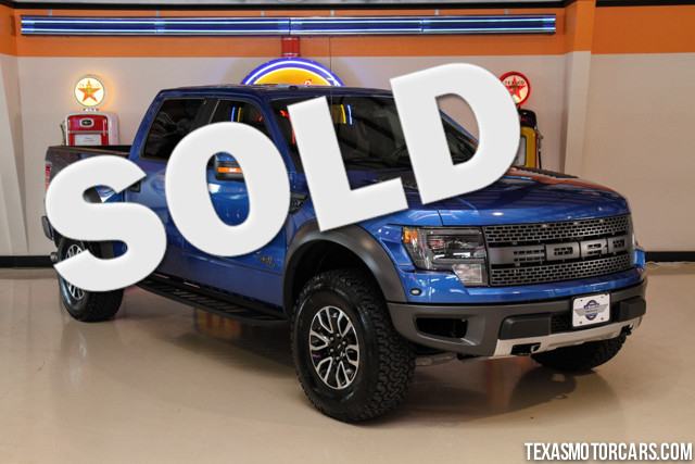 2014 Ford F-150 SVT Raptor This Carfax 1-Owner 2014 Ford F-150 SVT Raptor 4x4 is in like new condi