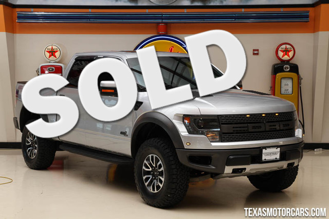 2014 Ford F-150 SVT Raptor This 2014 Ford F-150 SVT Raptor is in great shape with only 69 186 mil