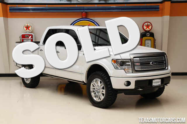 2014 Ford F-150 Platinum This Carfax 1-Owner 2014 F-150 Platinum is in great shape with only 42 9