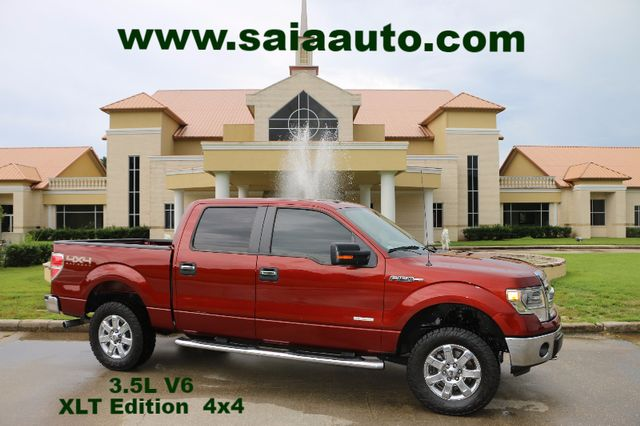 2014 Ford F 150 Supercrew Xlt 4wd Off Road Pkg Leather BUCKETS PWR SEATS LOADED ONLY 49K MILES LEVELED ON TOYOS ONE OWNER CARFAX READY TO GEAUX | Baton Rouge , Louisiana | Saia Auto Consultants LLC in Baton Rouge  Louisiana