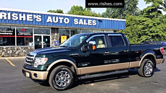 2014 Ford F-150 Crew 2 Tone Lariat w Tow Prep | Ogdensburg, New York | Rishe's Auto Sales in Ogdensburg New York