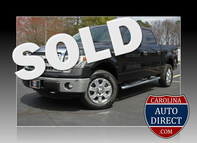 2014 Ford F-150 XLT-LEATHER-SUNROOF-4X4 Mooresville , NC 0