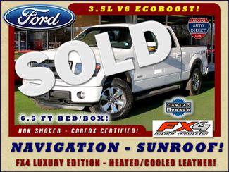 2014 Ford F-150 FX4 Luxury Edition SuperCrew 4X4 - NAV - SUNROOF! Mooresville , NC