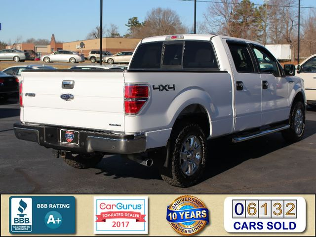 2014 Ford F-150 XLT Luxury Edition SuperCrew 4X4 - LEATHER - HIDS! Mooresville , NC 2