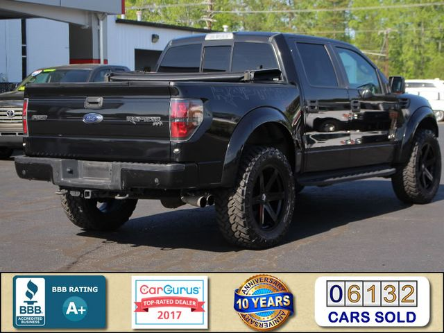 2014 Ford F-150 SVT Raptor LUXURY SuperCrew 4x4 SPECIAL EDITION! Mooresville , NC 2