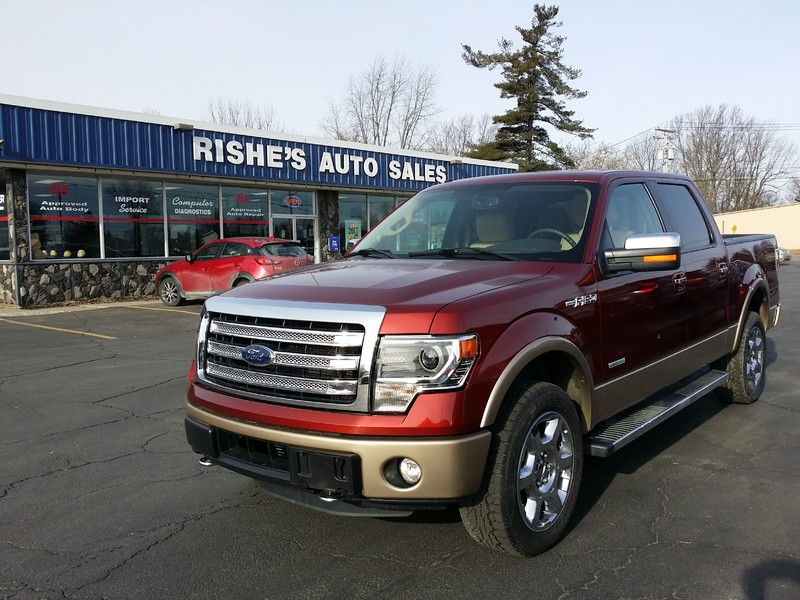 2014 Ford F-150 Lariat Last year for Steel Body! in Ogdensburg New York