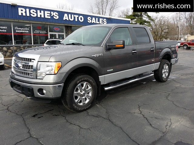 2014 Ford F-150 Crew 4x4 XLT Plus Package   Ogdensburg, New York   Rishe's Auto Sales in Ogdensburg New York