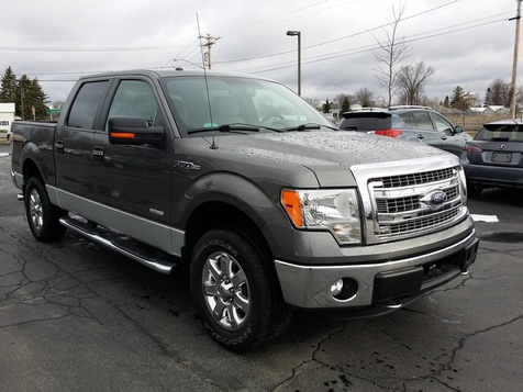 2014 Ford F-150 Crew 4x4 XLT Plus Package   Ogdensburg, New York   Rishe's Auto Sales in Ogdensburg, New York