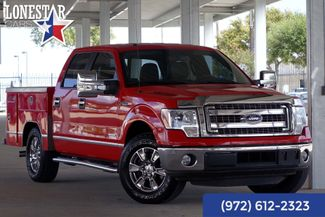 2014 Ford F150 XLT Utility Bed Leather Clean Carfax in Plano Texas, 75093