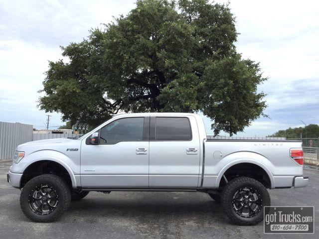 2014 Ford F150 Crew Cab Limited 3.5L V6 EcoBoost 4X4   American Auto Brokers San Antonio, TX in San Antonio Texas