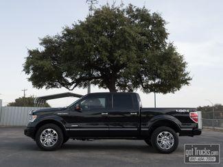 2014 Ford F150 Crew Cab Platinum EcoBoost 4X4 | American Auto Brokers San Antonio, TX in San Antonio Texas