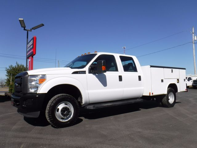 2014 Ford F350 Crew Cab 9FT Utility 4x4 in Ephrata PA