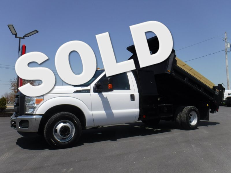 2014 Ford F350 10' Drop Side Landscape Dump Truck 2wd  in Ephrata PA