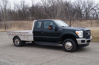 2014 Ford F350 XL - 9ft Flatbed -  4WD 6.2L V8 Gas-[ 2 ]