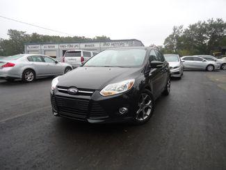2014 Ford Focus SE HATCHBACK. LTHR. NAVI. SUNRF. CAMERA. HTD SEATS SEFFNER, Florida
