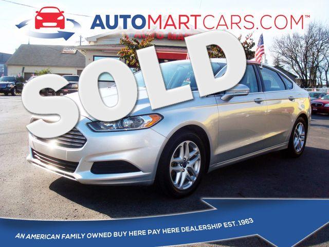 2014 Ford Fusion SE | Nashville, Tennessee | Auto Mart Used Cars Inc. in Nashville Tennessee