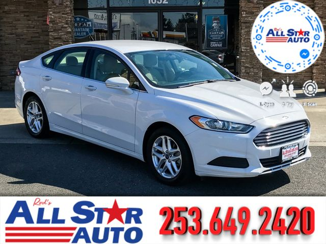 2014 Ford Fusion SE This vehicle is a CarFax certified one-owner used car Pre-owned vehicles can