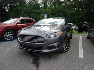 2014 Ford Fusion SE LEATHER. CAMERA. WHEELS SEFFNER, Florida