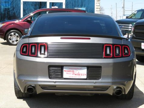 2014 Ford Mustang 6spd Sterling Gray w/ Gloss Black Alloys  in Ankeny, IA