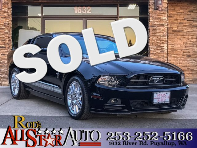 2014 Ford Mustang V6 Premium This vehicle is a CarFax certified one-owner used car Pre-owned vehi
