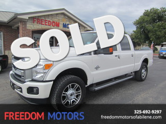2014 Ford Super Duty F-250 Pickup Platinum in Abilene Texas
