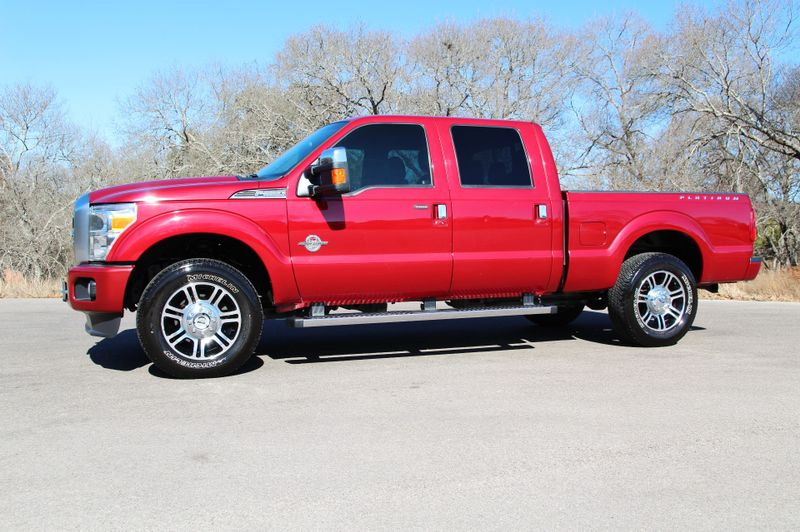 2014 Ford Super Duty F-250 Platinum - 4x4